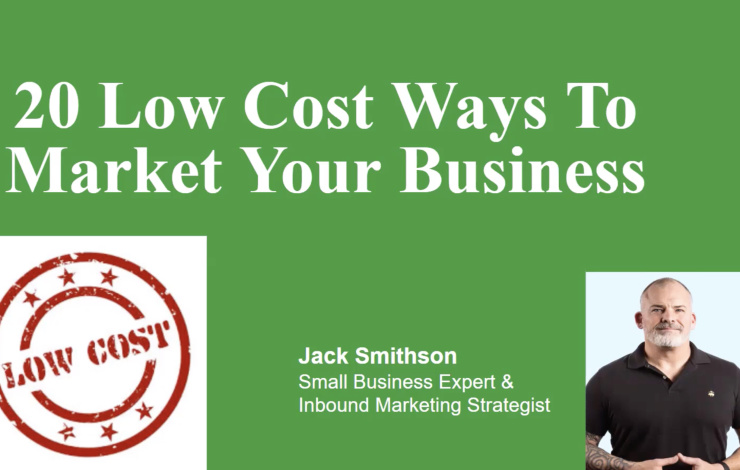 marketing your business on a small budget