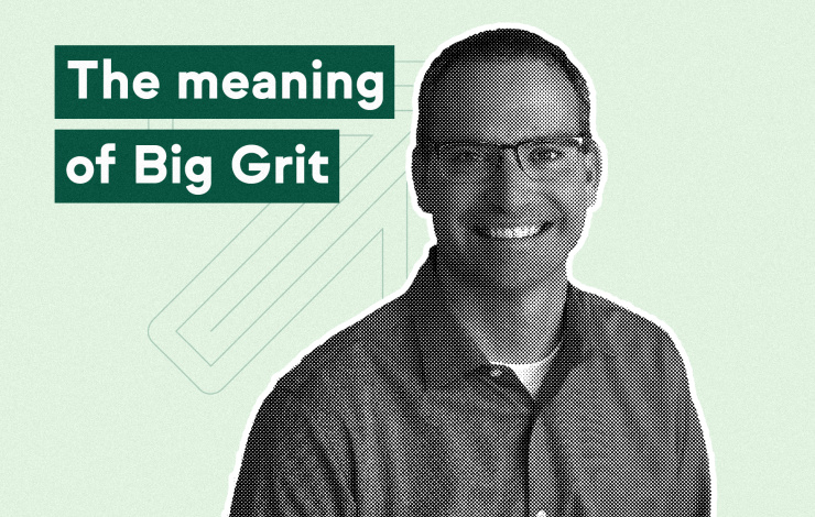 Small Biz Buzz—128—Clate Mask—The meaning of Big Grit