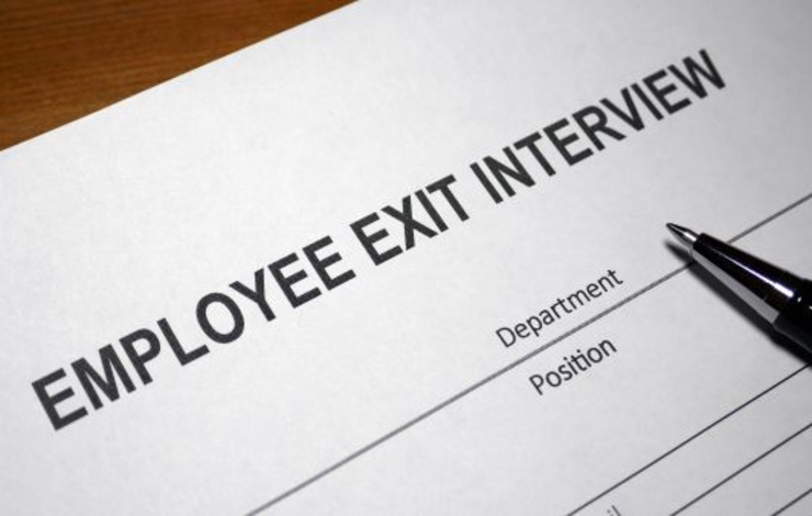 Exit interview form