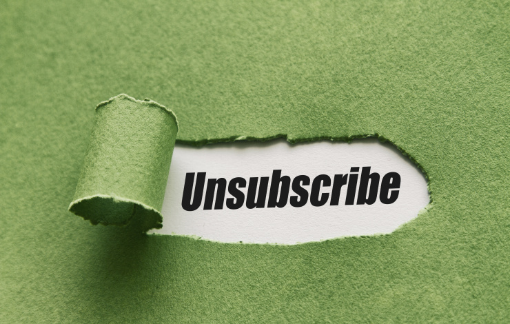 unsubscribe email template
