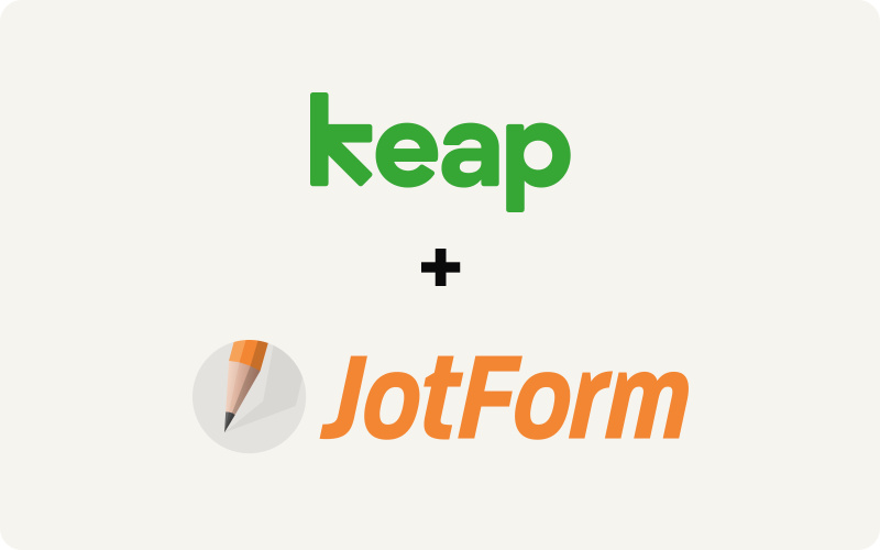 How to collect leads your way with Keap and JotForm
