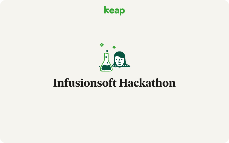 Keap's Hackathon fixes bugs, improves CRM