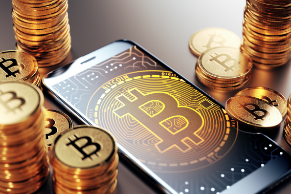 bitcoin on cell phone