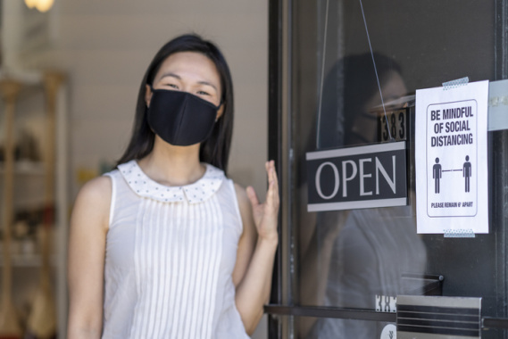 small business rebound from pandemic