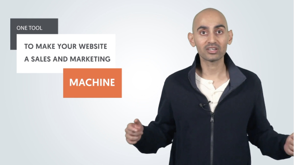 The one tool to make your website a sales and marketing machine