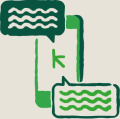 Keap messaging icon
