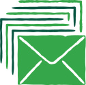 Icon depicting emails