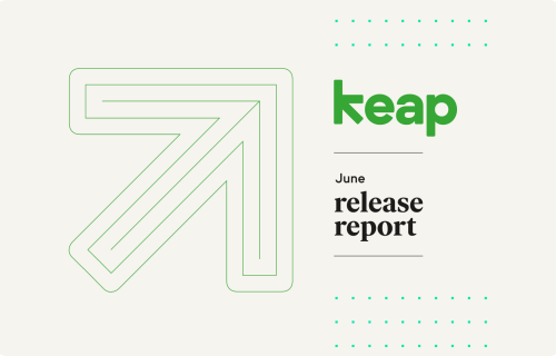 Keap's June Release Report transcript