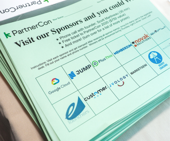 Flyer of why to become a sponsor.