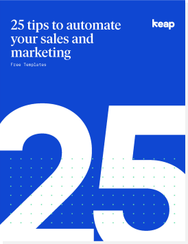 25 tips to automate your sales and marketing