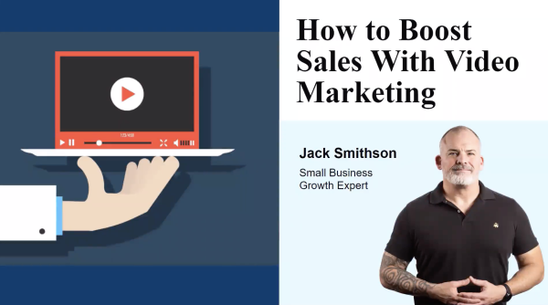 How to boost sales with video marketing