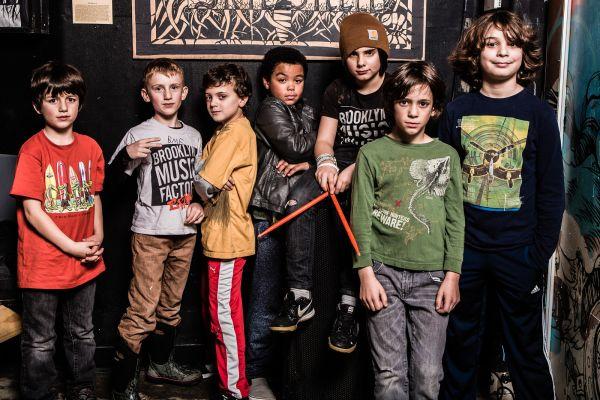 Kid's rock band