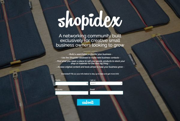 Shopidex example