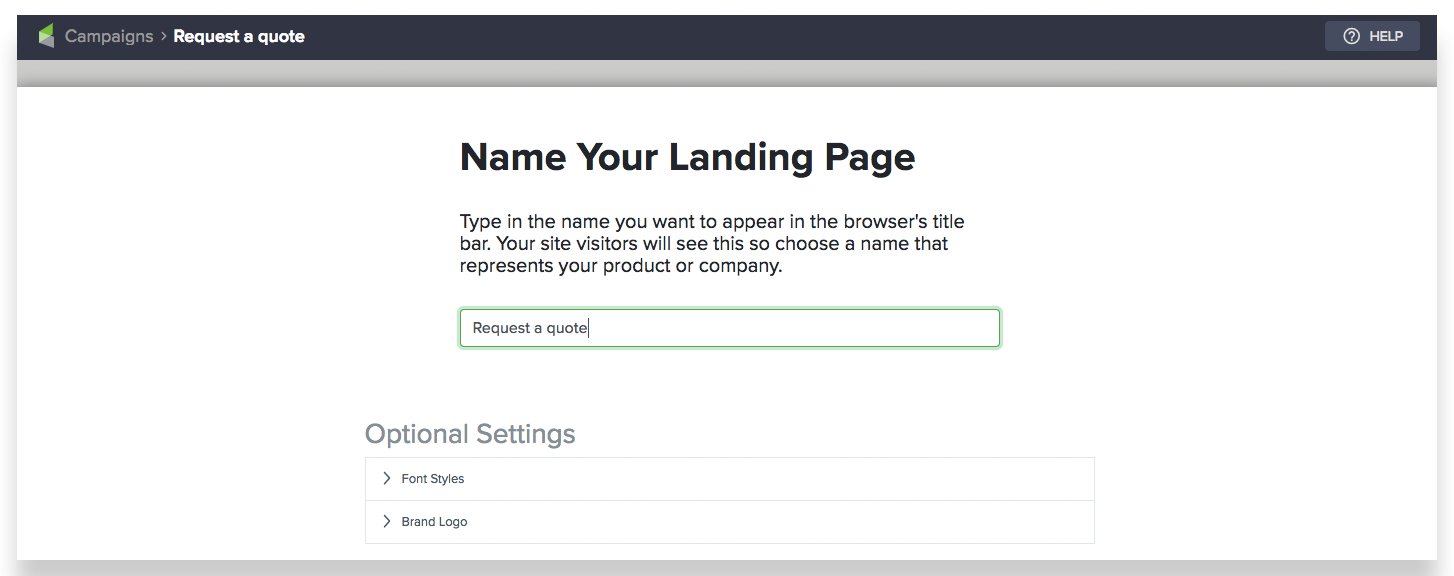 infusionsoft new landing pages builder