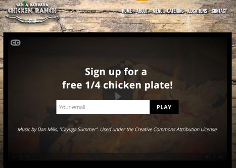 Screenshot of Santa Barbara Chicken Ranch video