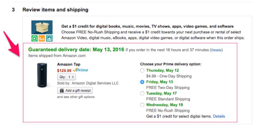 Amazon example 3