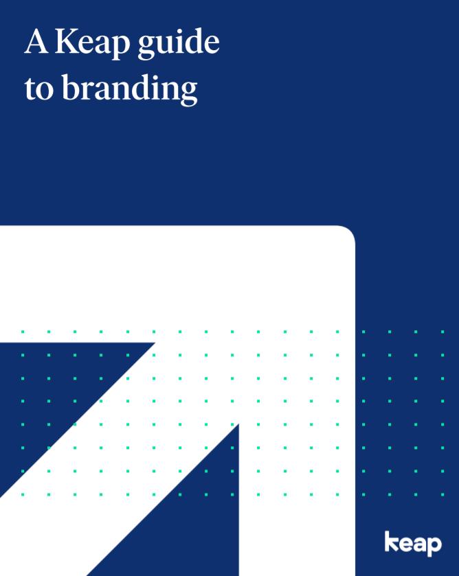 A Keap guide to branding
